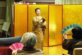 日本舞踊活動の様子写真